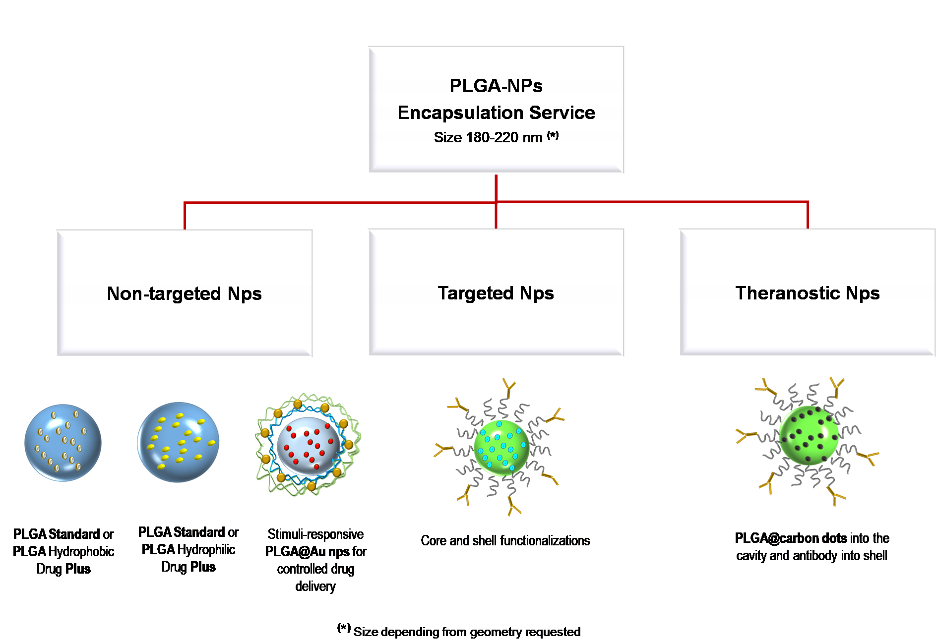 PLGA ENCAPSULATION SERVICE